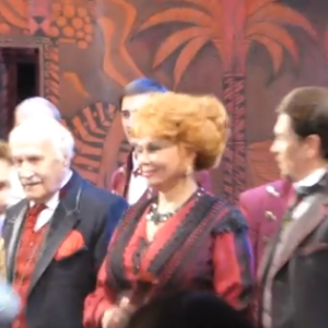 Видео — Театр Модернъ — спектакль «Дядюшкин сон» (05.11.2015 г. поклоны)