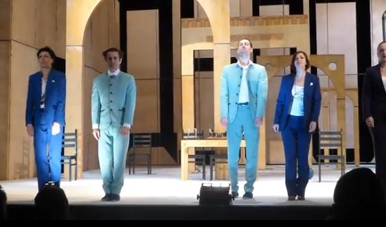 Видео — спектакль «Дело» — 08.11.2015 г. (поклоны)