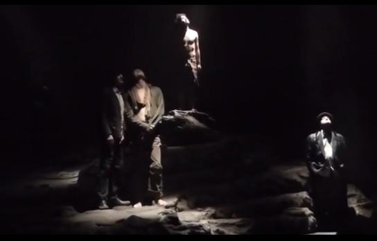 Видео — спектакль «В ожидании Годо» — 15.11.2015 г. (поклоны)