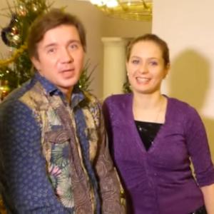 Весёлые новогодние поздравления от Анны Горловой и Михаила Калиничева
