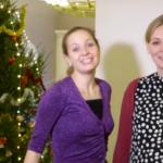 Новогодние поздравления от Анны Горловой и Анастасии Безбородовой