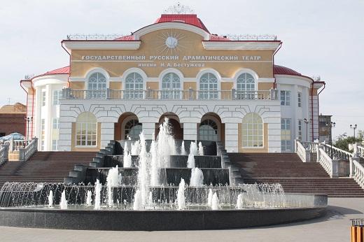 В театре русской драмы имени Бестужева города Улан-Удэ завершилась театральная лаборатория для подростков