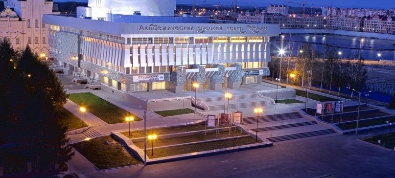 Пресс-конференция, посвященная поездке в ДНР и ЛНР, прошла в Академическом русском театре драмы им. Георгия Константинова