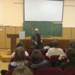 Встреча Вячеслава Долгачева со студентами литературного института