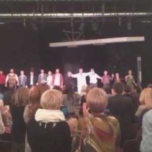 Иркутяне стоя аплодировали артистам Московского Нового драматического театра