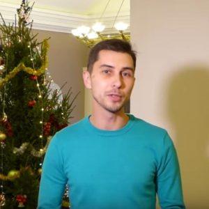 Поздравления с Новым годом от администрации театра в лице Игоря Щеглова