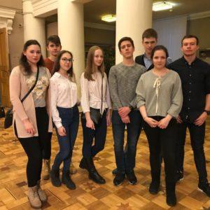Ученики Лицея № 1537 на спектакле Нового театра ЛЕС