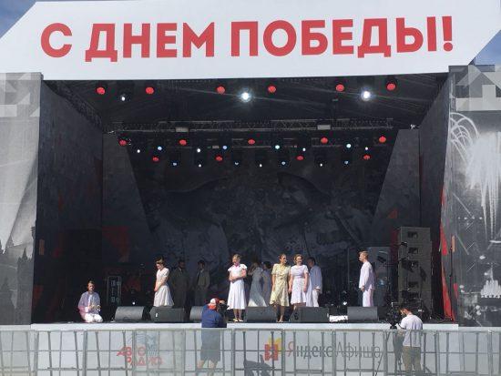 Новый театр - Пел Соловей, сирень цвела - День победы - 9 мая 2018 г.