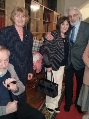 К 95-летию Виктора Монюкова — вечер памяти прошел в библиотеке СТД России