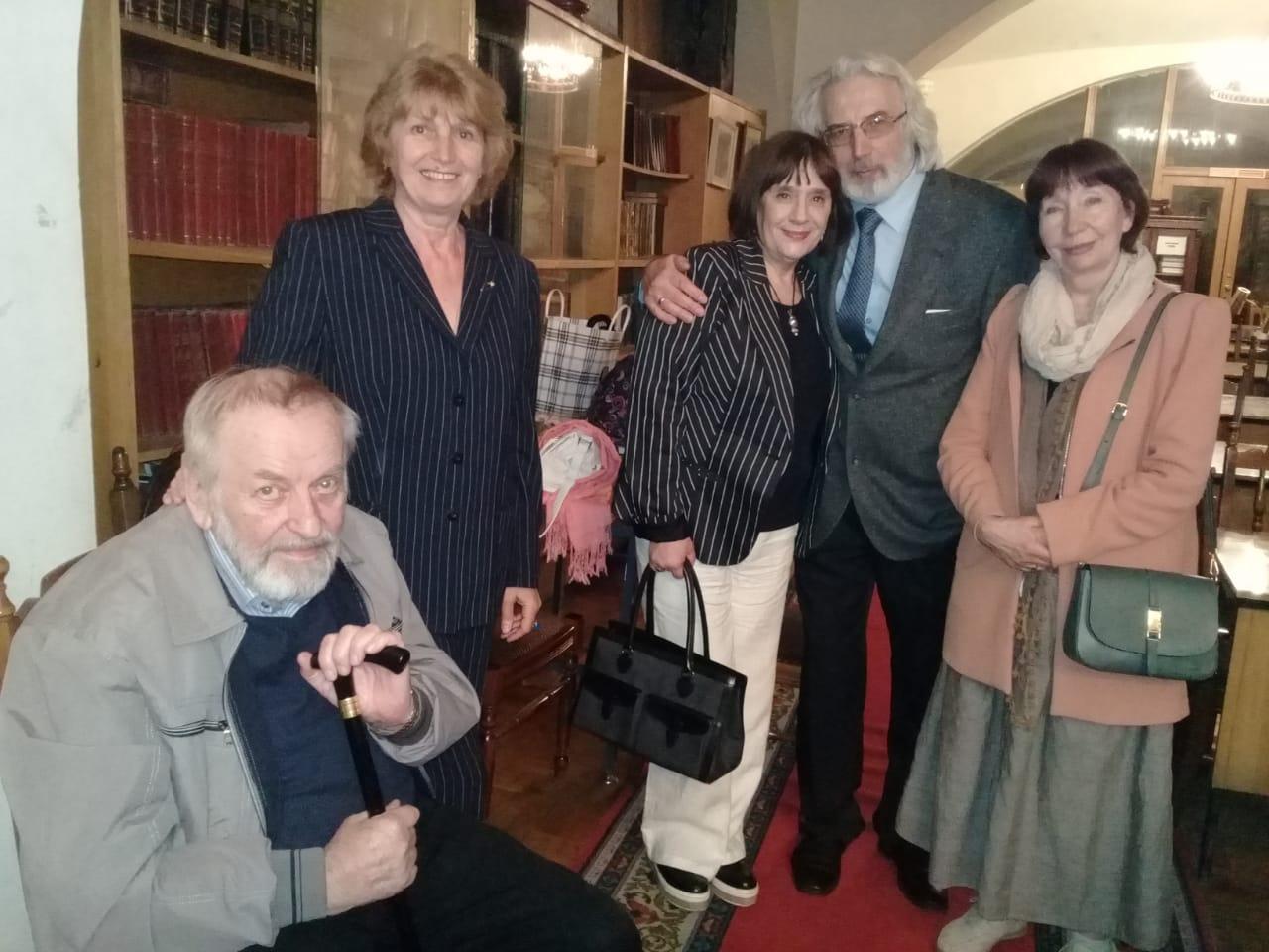 К 95-летию Виктора Монюкова – вечер памяти прошел в библиотеке СТД России