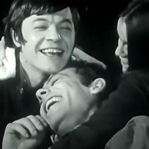 Марат, Лика и Леонидик 1971 год Ленком